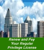 Renew and Pay Your Regular Privilege License